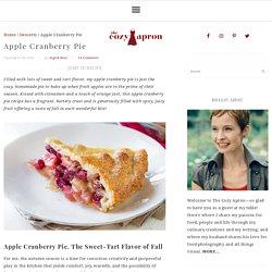 Apple pie aux cranberries fraîches