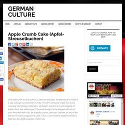 Apple Crumb Cake (Apfel- Streuselkuchen)