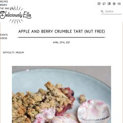 Apple and Berry Crumble Tart (Nut Free)