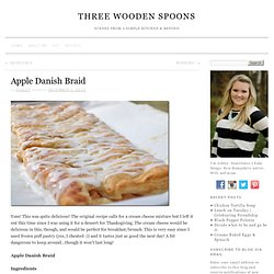 Apple Danish Braid « Will Run for Food