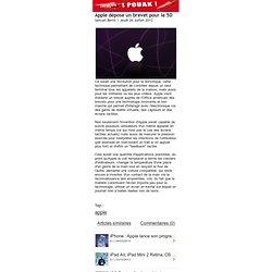 Apple dépose un brevet pour la 5D