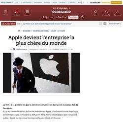 Sociétés : Apple devient l'entreprise la plus chère du monde