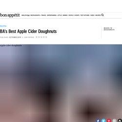 Apple Cider Doughnuts Recipe - Bon Appétit Recipe
