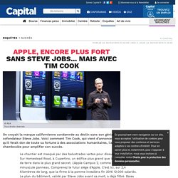Apple, encore plus fort sans Steve Jobs... mais avec Tim Cook