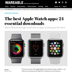 The best Apple Watch apps: 15 essential downloads