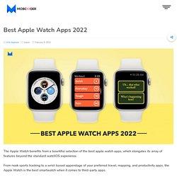 Best Apple Watch Apps 2021