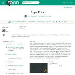 Apple Fries Recipe