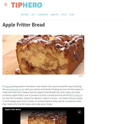 Apple Fritter Bread Recipe & Video