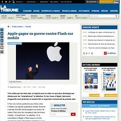 Apple gagne sa guerre contre Flash sur mobile