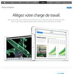 iPad - iPad en entreprise