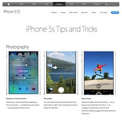 iPhone 4 S - Tips and Tricks