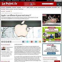 Apple : un iPhone 6 pour mai 2014 ?