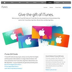 iTunes - Give the gift of music and more.