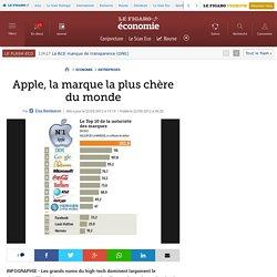 Apple, la marque la plus chère du monde