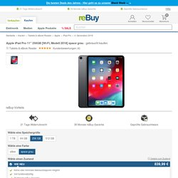"Apple iPad Pro 11"" 256GB [Wi-Fi, Modell 2018] space grau gebraucht kaufen"