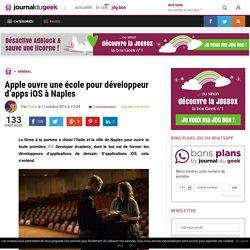 Apple ouvre une école pour développeur d'apps iOS à Naples