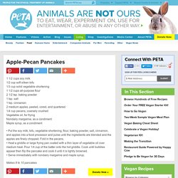 Apple-Pecan Pancakes