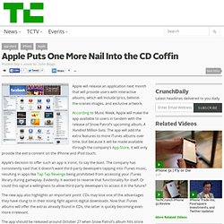 Apple Puts One More Nail Into the CD Coffin