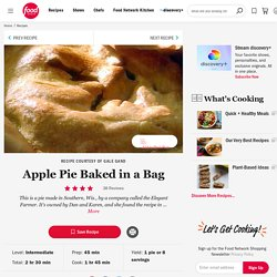 Apple Pie Baked in a Bag Recipe :