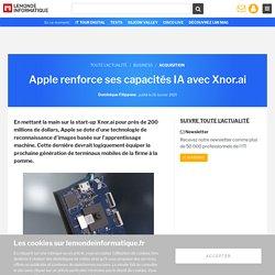 Apple renforce ses capacités IA avec Xnor.ai