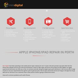 Apple Repairs Perth