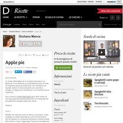 Apple pie - ricette Giuliana Manca