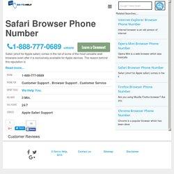 Apple Safari Browser Phone Number