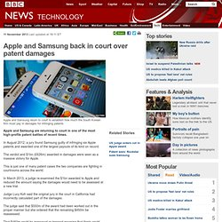 Apple and Samsung back in court over patent damages