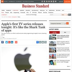 Apple's first TV series releases tonight: It's like the Shark Tank of apps