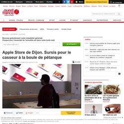 Apple Store de Dijon. Sursis pour le casseur à la boule de pétanque