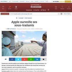 Apple surveille ses sous-traitants