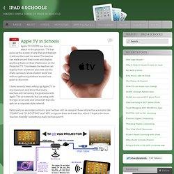 Apple TV in Schools