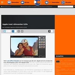 Apple veut réinventer iLife