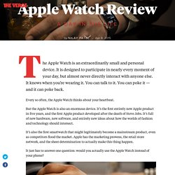 Apple Watch: the definitive review