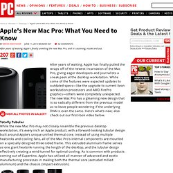 Apple's New Mac Pro: What You Need to Know