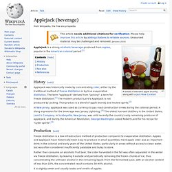 Applejack (beverage)