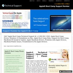 800-961-1963@Apple® Boot Camp Support Number, Apple Supprt