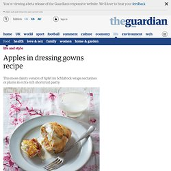 Apples in dressing gowns recipe