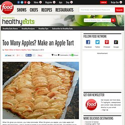 Too Many Apples? Make an Apple Tart