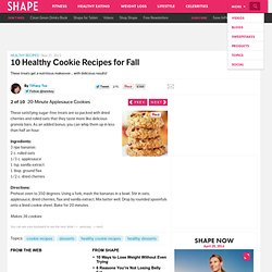 20-Minute Applesauce Cookies - The Best Healthy Cookie Recipes - Shape Magazine - Page 2