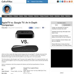 AppleTV vs. Google TV: An In-Depth Comparison
