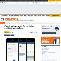 L'appli qui met votre fac ou école à portée de smartphone