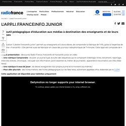 L'appli franceinfo junior