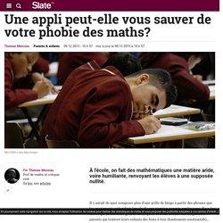 Une appli peut-elle vous sauver de votre phobie des maths?