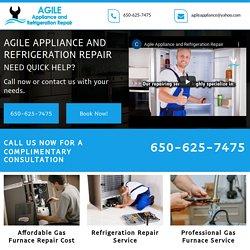 Agile Appliance, affordable gas furnace repair cost Los Gatos CA