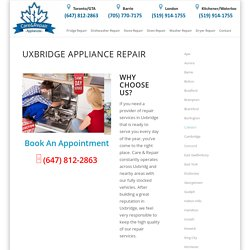 Appliance Repair Uxbridge
