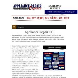 Affordable Appliance Repair DC