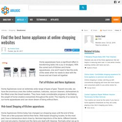 Buy Home appliance Online