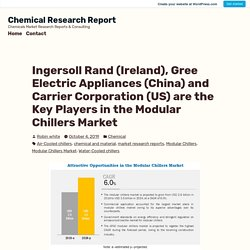 Ingersoll Rand (Ireland), Gree Electric Appliances (China) and Carrier Corporation (US) are the Key Players in the Modular Chillers Market