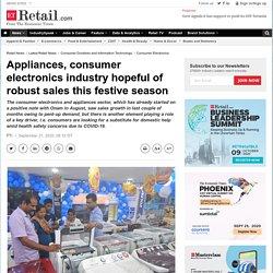 home appliances: Appliances, consumer electronics industry hopeful of robust sales this festive season, Retail News, ET Retail